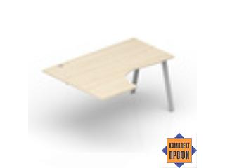 ARPG149G Приставной стол эргономичный, левый (1400х900х720 мм)