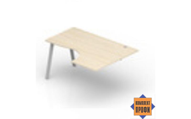 ARPG1612D Стол приставной, правый (1600х1200х720 мм)