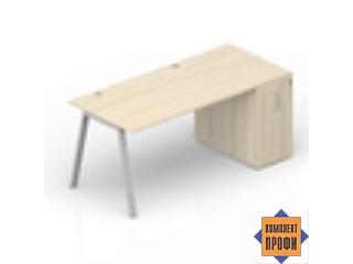 ARTPG168T072 Стол с приставным шкафом