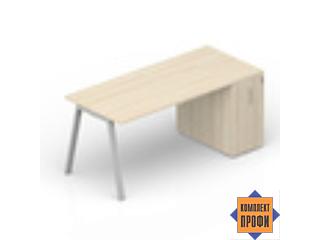 ARTPM128T072 Стол с шкафом приставным