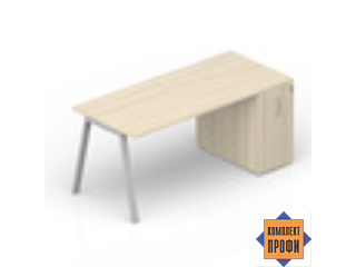 ARTPM148T072 Стол с шкафом приставным