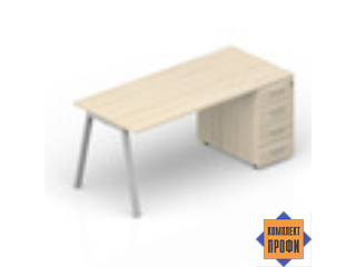 ARTPS148N072 Стол с тумбой приставной (1800х800х720 мм)