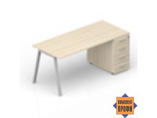 ARTPS168N072 Стол с тумбой приставной (2000х800х720 мм)