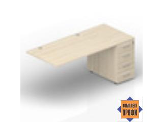 ETPG168N072 Стол с приставной тумбой (2000х800х720 мм)
