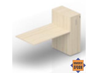 "ETPS128T112 Приставной стол ""Tower"" (1600х800х1120 мм)"