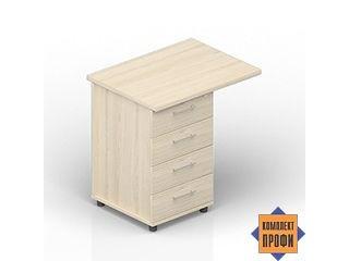 ODP48060 Тумба к столу, 4 ящика (800х600х720 мм)