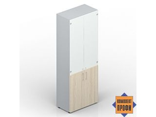 OMHS834BL Офисный шкаф для документов (800х440х1950 мм)