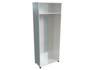 10501 grey Каркас шкафа для одежды (770х380х1980)