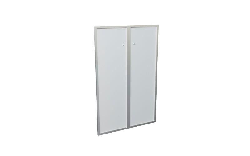 10555 Комплект сред. ст. дверей в алюм. раме (1150х770х20)