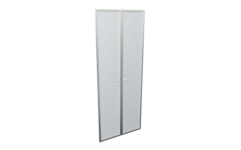 12551 Комплект высоких стеклянных дверей 1920х770