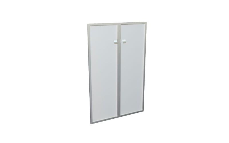 12555 Комплект средних стеклянных дверей (1150х770)