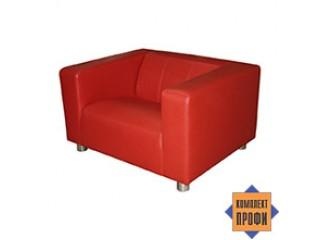 Кресло с подлокотниками (опора 80 мм) (1100х880х640 мм)