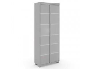 EDV421 Шкаф высокий со стеклянными дверями (900х420х2130)