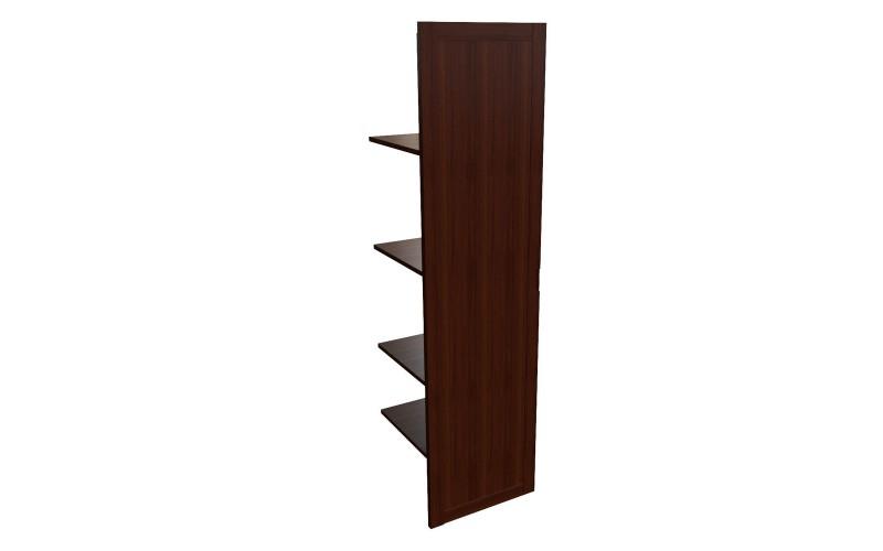 22554 Наполнение одноствор. шкафа с дер.дверцей и вешалкой (440x420x1880)