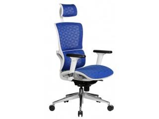 Кресло для персонала A8 (белый пластик)