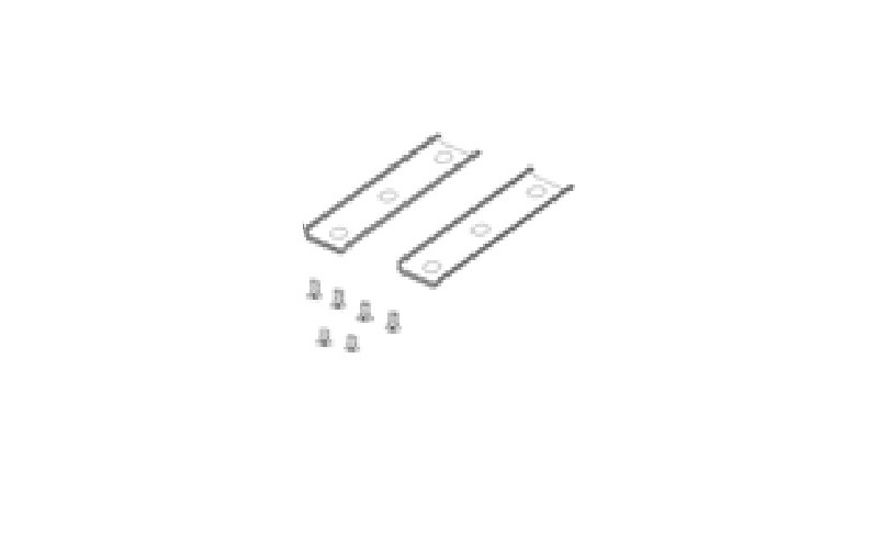 5001473 Крепления для профилей-проставок к столам тандем на МК