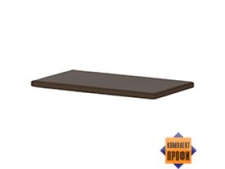 500562 Пуф для тумбы Т-235, темно-коричневая ткань (704x390x40)