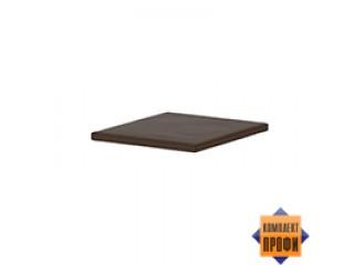 500564 Пуф для тумбы Т-91, темно-коричневая ткань (455х520х40)