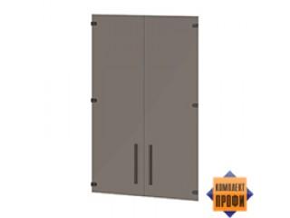 T-023 Двери стеклянные средние (810x4x1180)