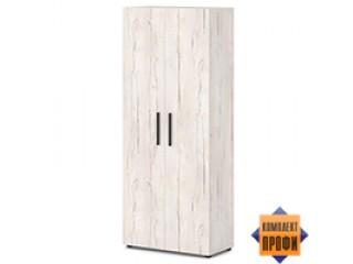 T-721 Шкаф для одежды, поперечная вешалка-штанга (820х406х1970)