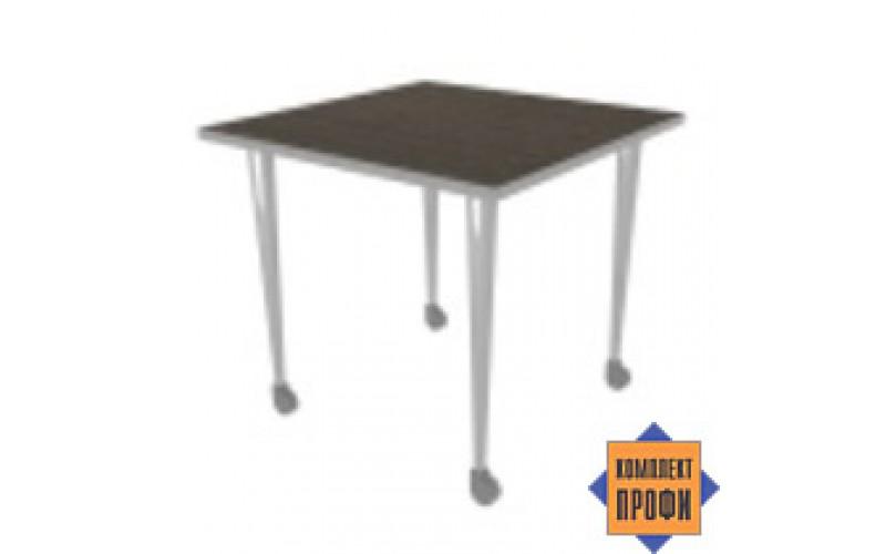 25605 Стол мобильный (800х800х745 мм)
