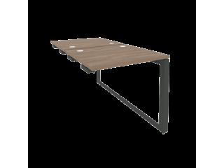 O.MO-D.SPR-0.7 Стол-приставка двойной на О-образном м/к к опорым элем. (780*1475*750)