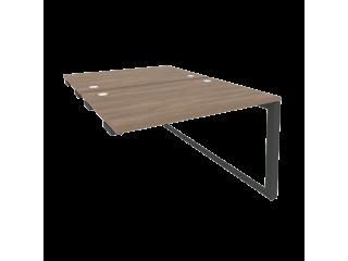 O.MO-D.SPR-2.8 Стол-приставка двойной на О-образном м/к к опорым элем. (1180*1635*750)