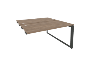O.MO-D.SPR-3.7 Стол-приставка двойной на О-образном м/к к опорым элем. (1380*1475*750)