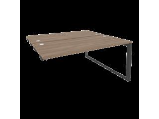 O.MO-D.SPR-4.7 Стол-приставка двойной на О-образном м/к к опорым элем. (1580*1475*750)