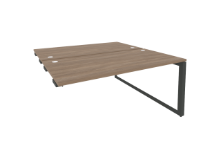 O.MO-D.SPR-4.8 Стол-приставка двойной на О-образном м/к к опорым элем. (1580*1635*750)