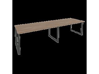 O.MO-PRG-2.4 Стол переговорный на мет. каркасе (2 столешницы) (3160*980*750)