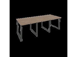 O.MO-PRG-3.0 Стол переговорный на мет. каркасе (3 столешницы) (2340*980*750)