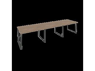 O.MO-PRG-3.2 Стол переговорный на мет. каркасе (3 столешницы) (3540*980*750)