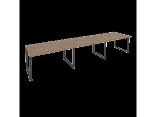 O.MO-PRG-3.3 Стол переговорный на мет. каркасе (3 столешницы) (4140*980*750)