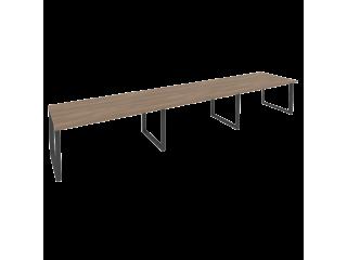 O.MO-PRG-3.4 Стол переговорный на мет. каркасе (3 столешницы) (4740*980*750)