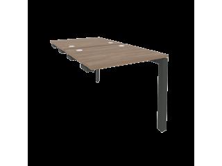 O.MP-D.SPR-0.7 Стол-приставка двойной на П-образном м/к к опорным элем. (780*1475*750)