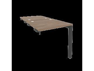 O.MP-D.SPR-0.8 Стол-приставка двойной на П-образном м/к к опорным элем. (780*1635*750)