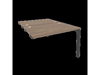 O.MP-D.SPR-2.8 Стол-приставка двойной на П-образном м/к к опорным элем. (1180*1635*750)
