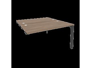 O.MP-D.SPR-3.7 Стол-приставка двойной на П-образном м/к к опорным элем. (1380*1475*750)