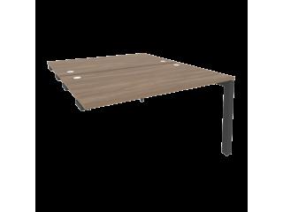 O.MP-D.SPR-3.8 Стол-приставка двойной на П-образном м/к к опорным элем. (1380*1635*750)