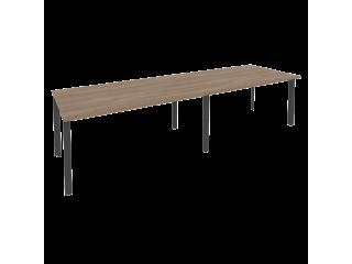 O.MP-PRG-2.4 Стол переговорный на мет. каркасе (2 столешницы) (3160*980*750)