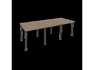 O.MP-PRG-3.0 Стол переговорный на мет. каркасе (3 столешницы) (2340*980*750)