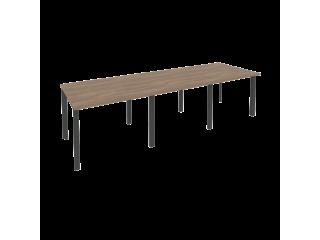 O.MP-PRG-3.1 Стол переговорный на мет. каркасе (3 столешницы) (2940*980*750)