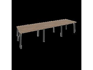 O.MP-PRG-3.2 Стол переговорный на мет. каркасе (3 столешницы) (3540*980*750)