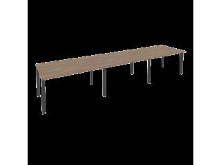 O.MP-PRG-3.3 Стол переговорный на мет. каркасе (3 столешницы) (4140*980*750)