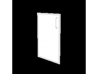 O.SR-3(L/R) white стекло в раме низкий лев/пр (396*20*766)