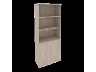 O.ST-1.1 Шкаф высокий широкий (2 фасада ЛДСП) (800*420*1977)