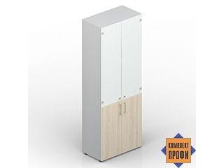EMHS834BL Шкаф высокий, закрытый (800х440х1950 мм)