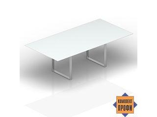 OC240V Стол для совещаний/стекло (2400х1200х710 мм)
