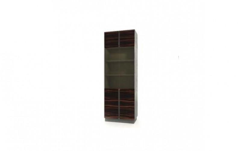 APGMC.33 Модуль шкафа с комбинированными дверцами со стеклом (820x450x2337)